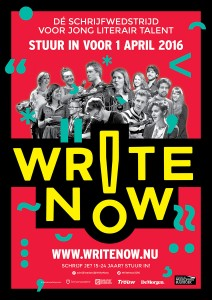 Write Now! 2016 staand